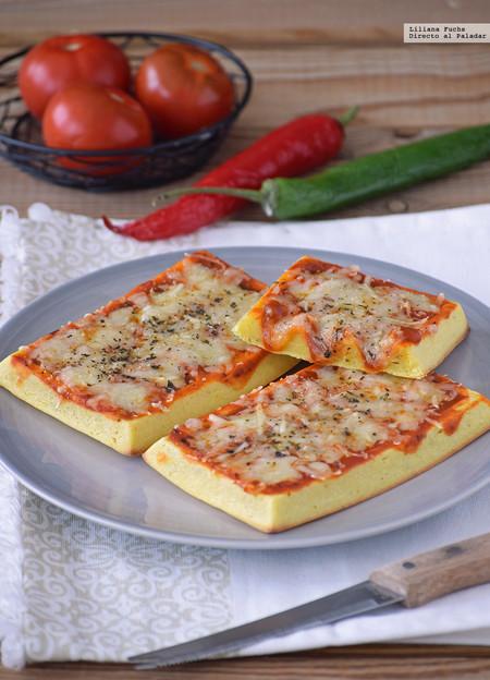 Gofres pizza. Receta facilísima para antojos