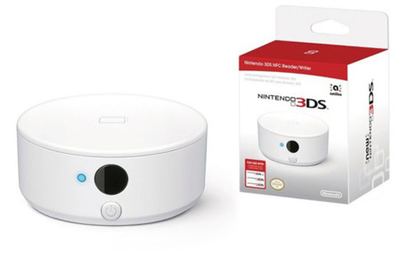 El lector NFC para el Nintendo 3DS saldrá a la venta en septiembre y ya se puede pre-ordenar en USA