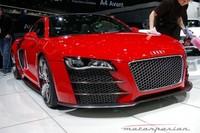 Audi R8 TDI Le Mans en el salón de Ginebra