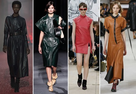 Trend Aw 2018 Leather Dress