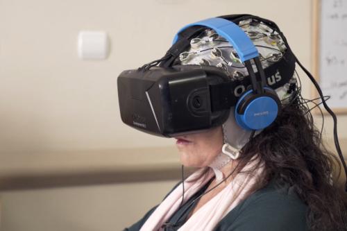 Tengo Parkison y me están tratando con realidad virtual