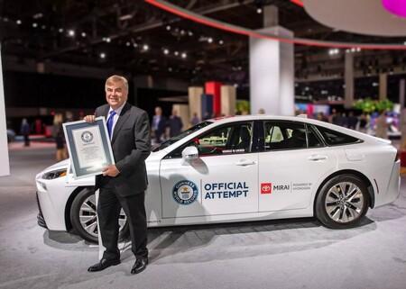 Toyota Mirai Record Mundial Guinness