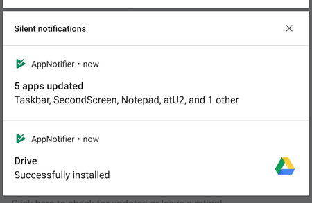 AppNotifier: una aplicación que recupera las notificaciones que dejó de mostrar la Play Store