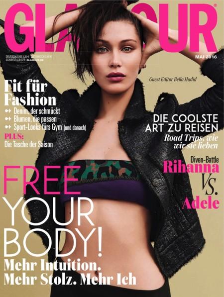 Glamour Alemania: Bella Hadid