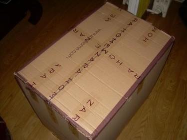 Ha llegado el paquete de Zara Home