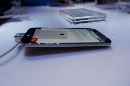 Galaxy S4 tumbado