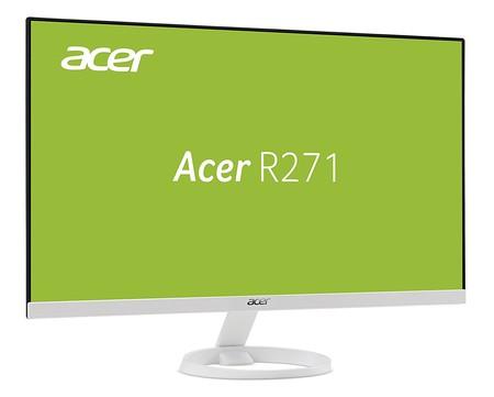 Monitor Acer R271 de 27 pulgadas, con resolución FullHD, por 179 euros y envío gratis