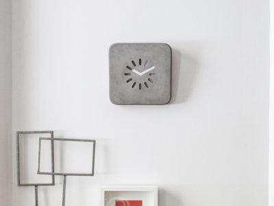 Un reloj de pared y otros 7 complementos de hormigón con los que vas a alucinar