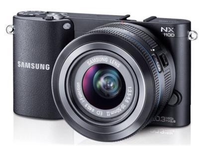Samsung NX1100 se deja ver antes de tiempo
