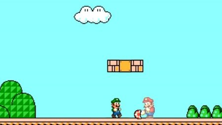 Mario y Luigi comparten los power-ups