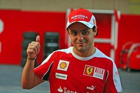 Felipe Massa concentrado para la temporada 2011