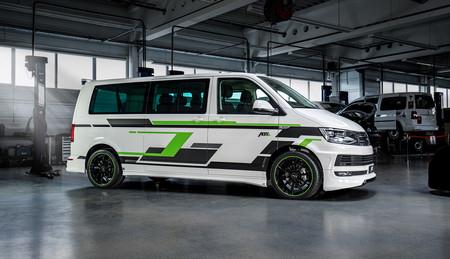 ABT se adelanta a Volkswagen y se saca de la manga una versión eléctrica de su furgoneta T6: ABT e-Transporter