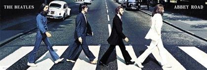 Póster de los Beatles: Abbey Road