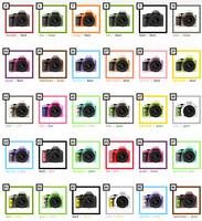 Pentax K-x, hasta 100 combinaciones de color en Japón