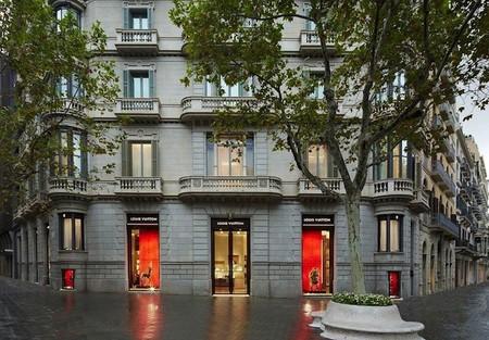 Louis Vuitton se muda y se renueva en la ciudad de Barcelona