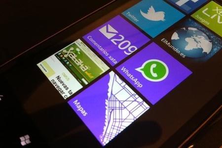 WhatsApp para Windows Phone permitirá enviar vídeos que hayamos grabado