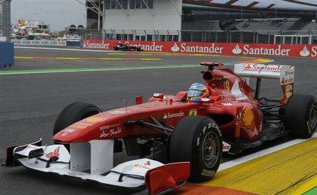 GP de Europa F1 2011: Fernando Alonso, error mediante, saldrá cuarto