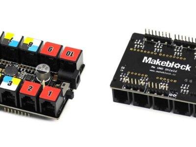 Ya puedes convertir tu Arduino UNO en placa de Makeblock gracias a este shield