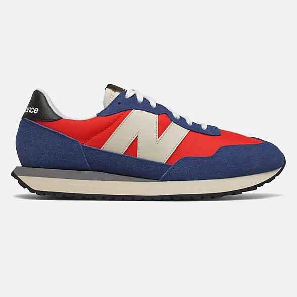 Zapatillas para hombre New Balance 237 Velocity Red with Atlantic