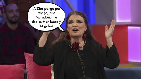 María José Cantudo confiesa haber sido el gran amor platónico de Maradona y relata cómo se puso en contacto con ella