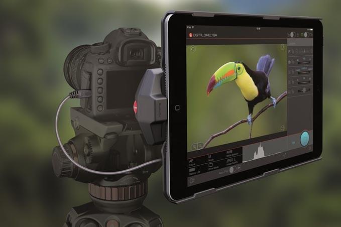 Con Digital Director de Manfrotto podemos transformar un iPad Air en un monitor externo para nuestra DSLR