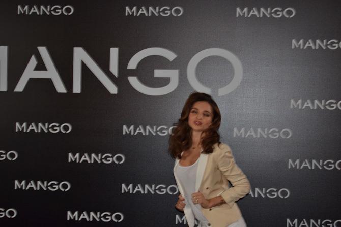 Foto de Miranda Kerr para Mango, rueda de prensa (14/16)