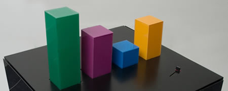 Wable, mesa con diagrama de barras