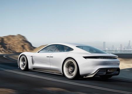 Porsche Mission E Concept 2015