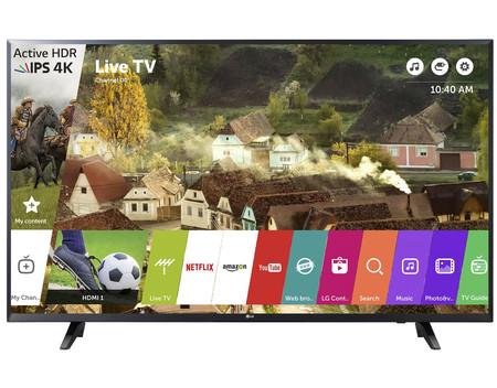 Oferta Flash: Smart TV de 55 pulgadas LG 55UJ620V, con resolución 4K, por 449,99 euros y envío gratis