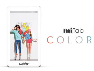 """Wolder miTab Colors 7"""" y 10"""", tabletas low-cost que cambian de traje"""