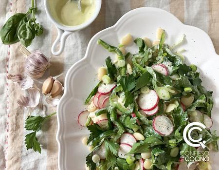 Paseo por la gastronomía de la red: ensaladas frescas para recibir la primavera