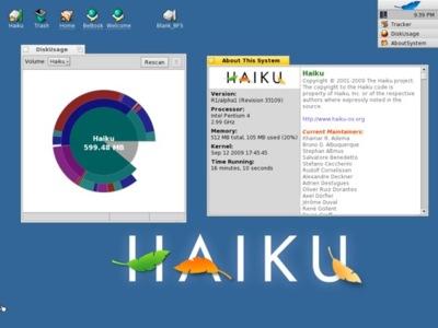 Haiku R1 ya ha lanzado su primera alpha