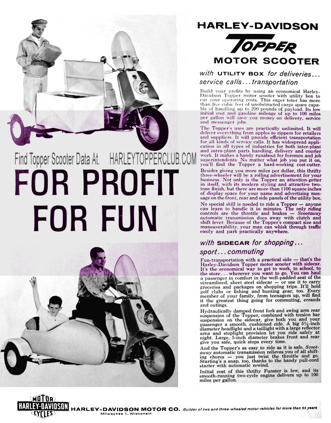 Foto de Harley-Davidson Topper scooter (5/13)