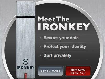 IronKey, ahora hasta 8 GB