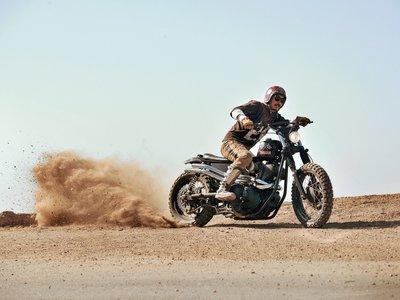 ¿Te gustó la Yamaha SCR950? Aquí tienes su primera customización, la Chequered
