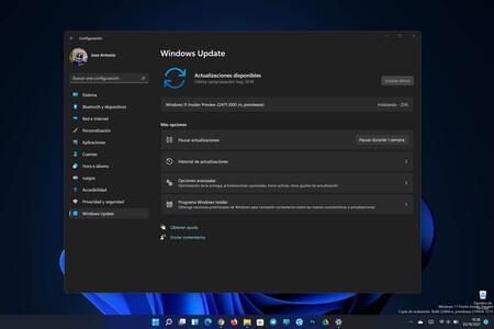 Microsoft lanza la Build 22471 de Windows 11 en el Canal Dev corrigiendo fallos con los iconos, con la Barra de tareas y más