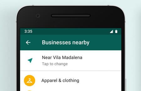 WhatsApp está probando un directorio de empresas: así podrás chatear con las negocios cercanos