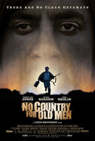 Póster de 'No Country For Old Men' de los Coen