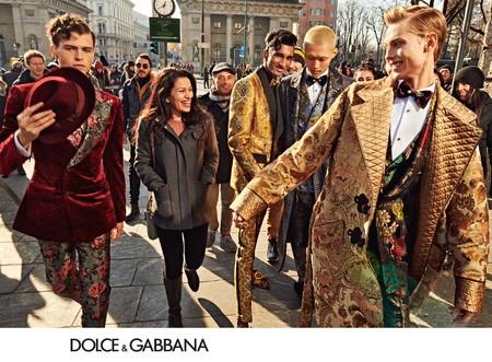 Dolce Gabbana Vuelve A Reclutar A Su Ejercito Millennial Para Su Nueva Campana De Invierno 02