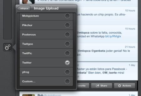 Twitter eliminará los servicios de terceros para subir imágenes de sus clientes oficiales