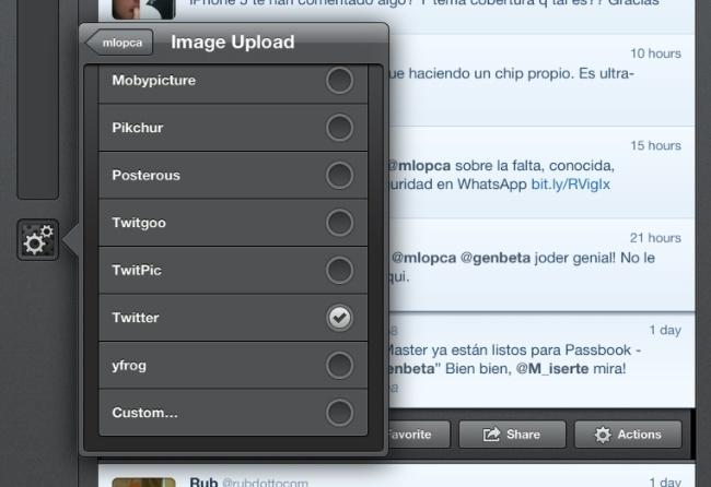 twitter servicios imágenes tweetbot