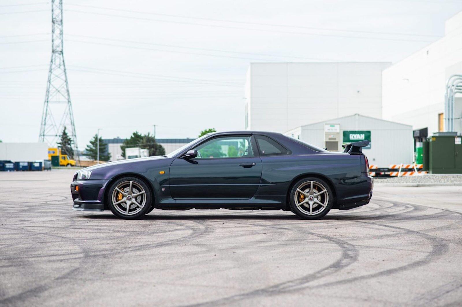 Foto de Nissan Skyline GT-R V-Spec 1999 subasta (6/19)