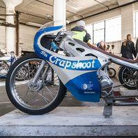 """Alta Motors """"The Crapshoot"""": fusión perfecta entre vanguardiso eléctrico y dragster de hace medio siglo"""