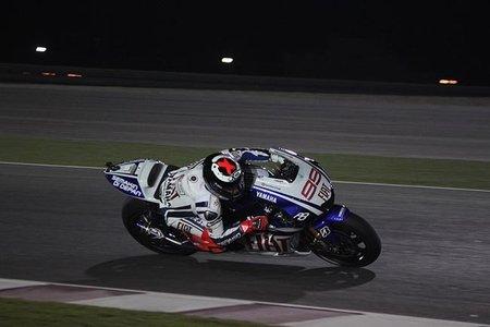 Jorge Lorenzo en Qatar 2010