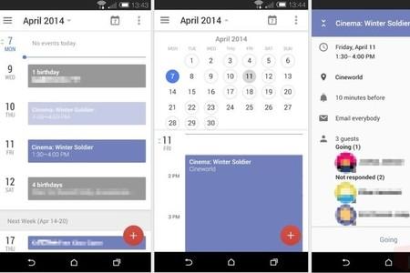 Así podría lucir la nueva versión de la aplicación 'Calendario' en Android