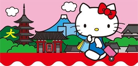 Aplicaciones viajeras: visita Japón con Hello Kitty