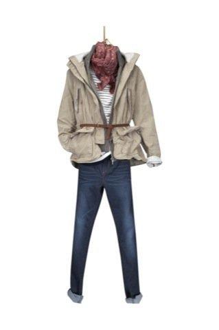 Lookbook Massimo Dutti Otoño-Invierno 2010/2011, jeans