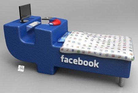 FBed, la cama Facebook