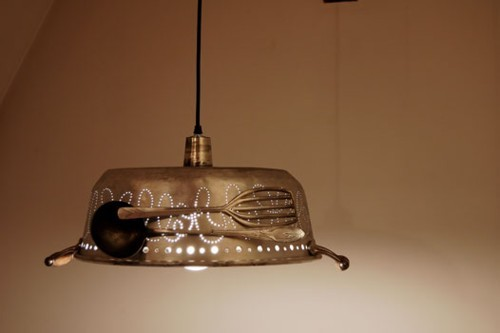 Garbage, antiguos utensilios de cocina que iluminan (2/8)
