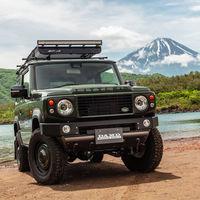 De Suzuki Jimny a Land Rover Defender, o cómo convertir el pequeño 4x4 en el todoterreno clásico por excelencia